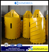 China Supplier Core Barrel Drilling Concrete Buckets manufactured in