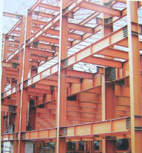 modern prefabricated high rise commercial steel structure building
