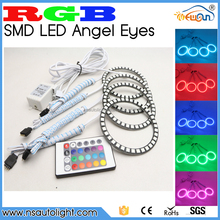 Colourful Led Auto Light E36 E38 E39 E46 RGB 5050SMD Led Angel Eyes for BMW