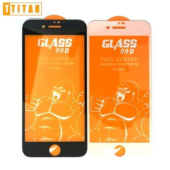 0.3mm Screen Protector Film for Iphone7 2.5D 9H Explosion Proof for iPhone 7/ 7plus Tempered Glass Screen Protector