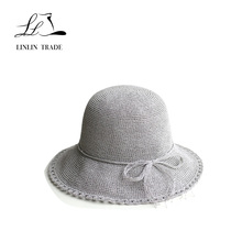 Wholesale promotional summer beach straw hats for women fashion hat