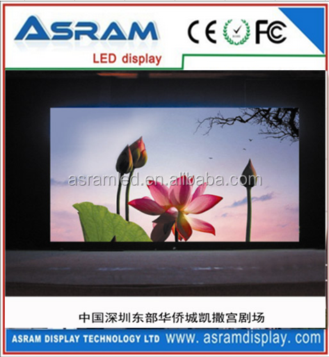 China hot sells products HD ph6 vivid indoor movie screen led seven segment display