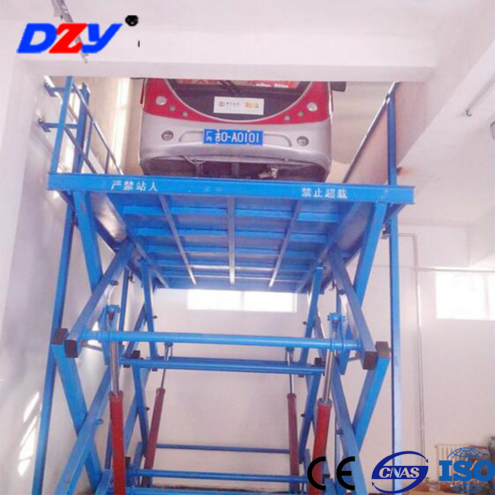 Home garage hydraulic scissor auto lift 3000 hydraulic car Hydraulic car lift home garage