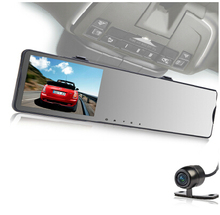 shenzhen rear mirror SIM Card WIFI Digital 4.3'' lcd Parking Car Monitor 168s Car Dvr