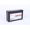 LiFePo4 Rechargeable battery pack 6.4V 12ah with PCM