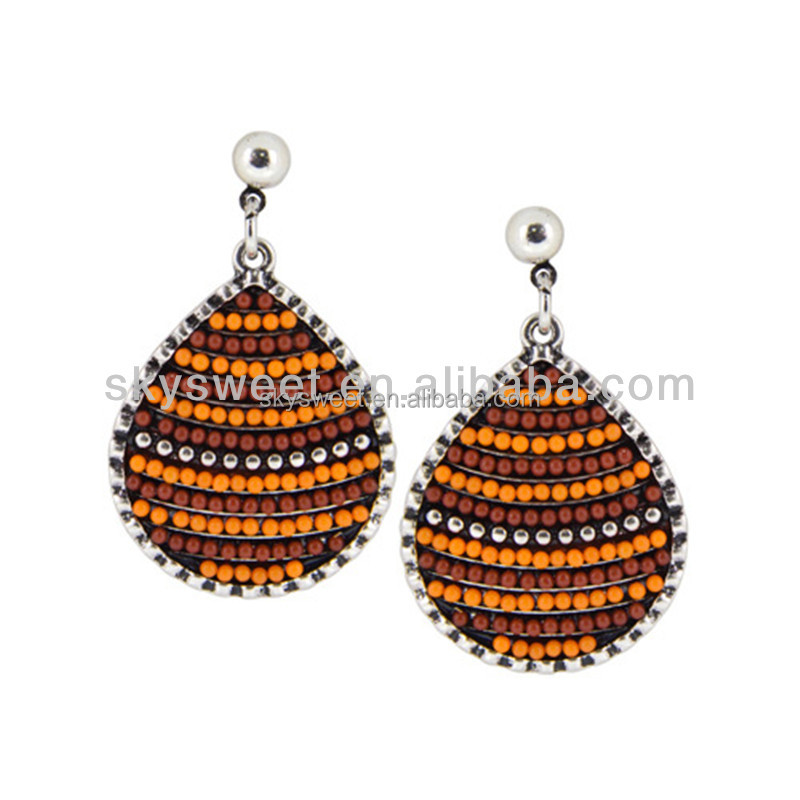 women cheap crystal earrings,stones earring (SWTERCXT224-1)