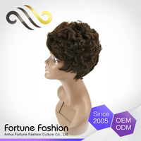 Wholesale cheap human hair wigs,virgin remy short hair wigs for white people wigs