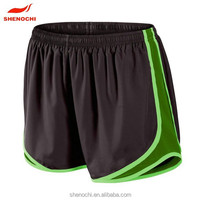 Custom design dri fit wholesale running shorts jogging shorts for women