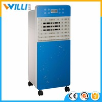 Room evaporative water air cooler with washable dust filterand honeycomb pad