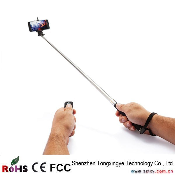Selfie Stick with Built In Bluetooth, Manufacturer China, Colorful Wireless Monopod Bluetooth Selfie Stick