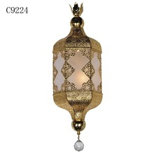 C9224 antique hanging lamp, light lifter, crystal chandelier for lobby