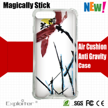 New arrivals Shenzhen wholesale cell phone accessories tpu pc shockproof sublimation phone case for iphone 7 plus
