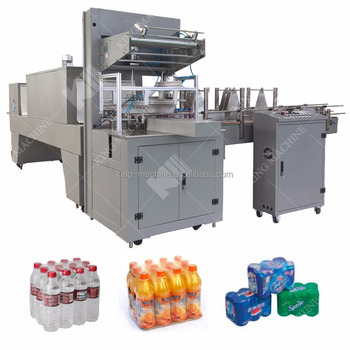 Shrink Wrap Machine automatic bottle wrapping line