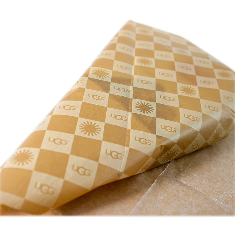 Fashionable Yellow Customized Tissue Papers for Gifts