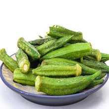wholesale delicious dried okra <strong>chips</strong> snack