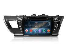 Android Car dvd GPS player for Toyota Corolla 2013- 2015 left hand drive