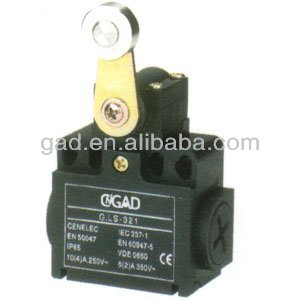 CNGAD Panel Mount Cross Roller Plunger Limit Switch(micro switch,limiting switch)(LS-321)