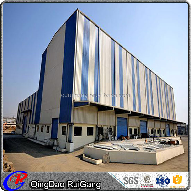 Light Steel Construction Prefabricated Large Span Steel Structure Workshop