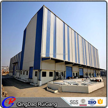 Light Steel Construction Prefabricated Large Span Structure Workshop