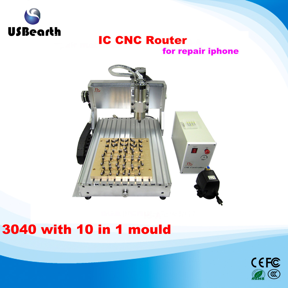 IPhone IC Repair LY <strong>CNC</strong> engraving machine , <strong>CNC</strong> cutting / milling Machine for iPhone Main Board