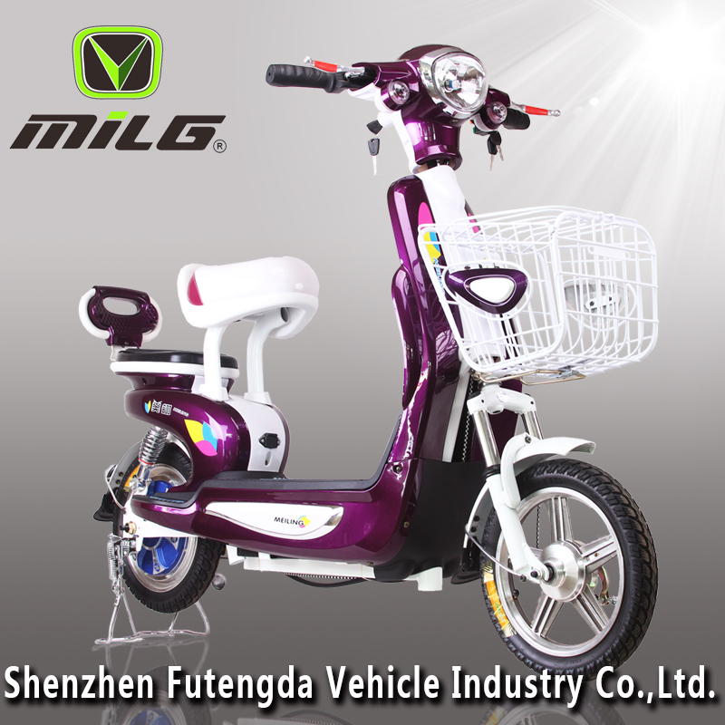 Lovely Design Simple dirt bike China 350w electric motorcycle for adult /2 Wheel electric scooter /ebike