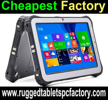 "HIDON CHEAPEST FACTORY , rugged tablet pc with Dual OS Choose MIL-STD-810G 10"" IP65 waterproof NFC/1D/2D Rugged Tablet"