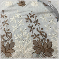 2016 High quality Custom embroidery fabric