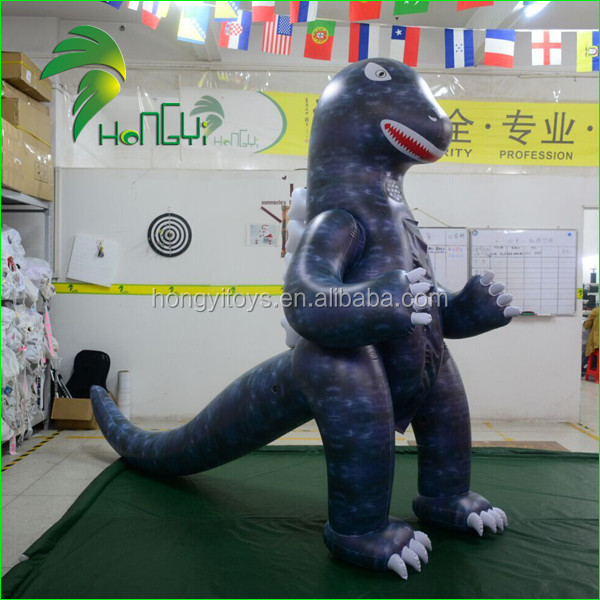 Customized Inflatable Dinosaur Cartoon Suit for Adults