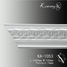 High Quality Polyurethane Interior Plastic Corner Ceiling Moulding