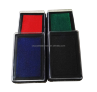 cheap price plastic rectangle stamp ink pad office use