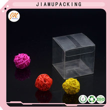 Plastic PVC folding clear box