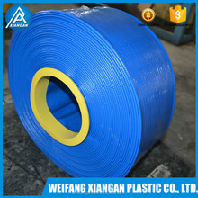 Heavy duty lay flat hose for mining slurry discharge