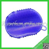 Plastic Bath Massage Glove With Fingers,facial massage gloves