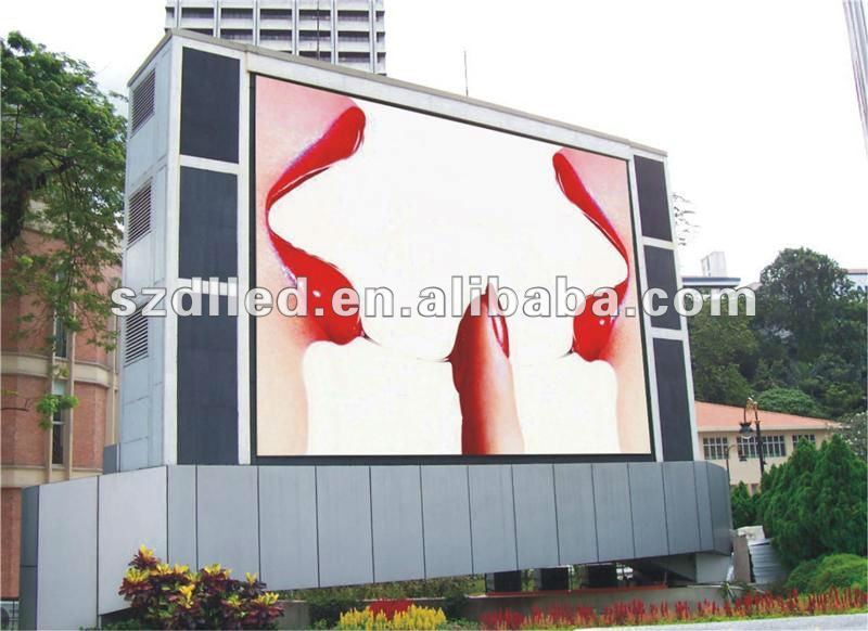 DL HOT NEWS---best price(real quality) advertising waterproof full led display screen 32*16 matrix