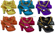 SB524 high quality italian woman matching shoes and bags