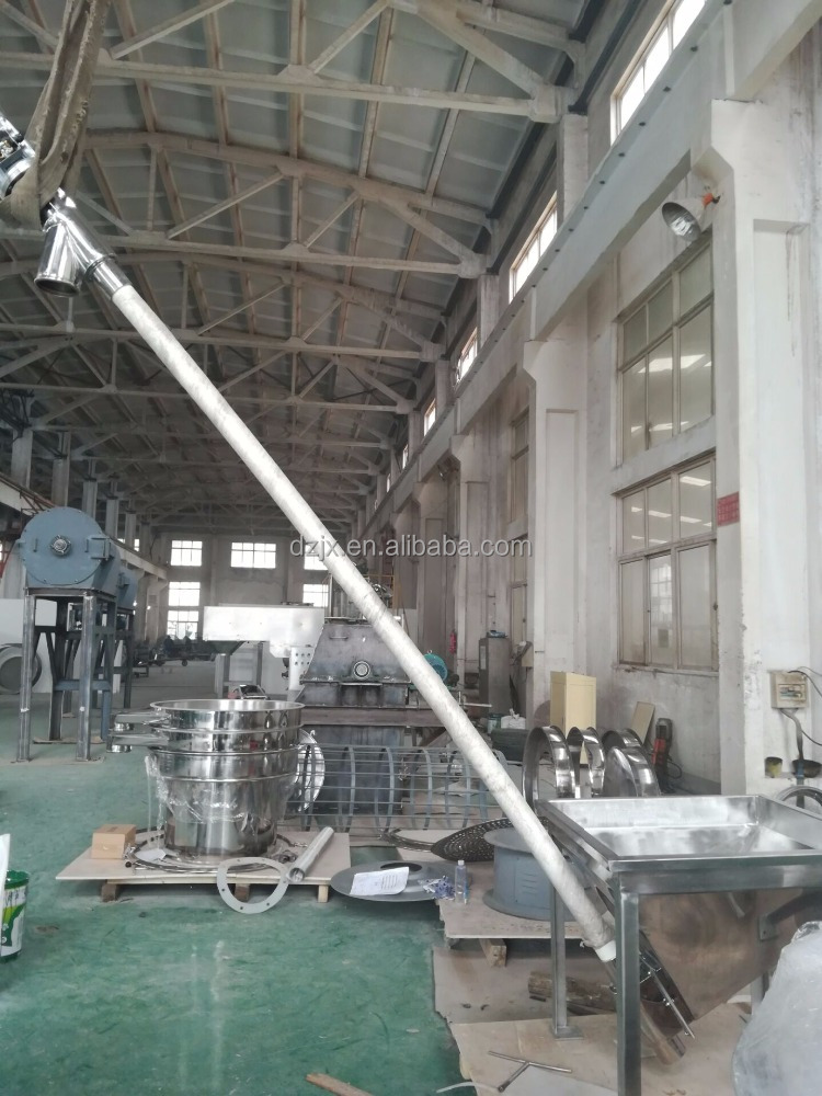 powder flex feeder spring auger