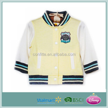 2016 Latest Fleece Baby Varsity Baseball Jackets Kid Jackets