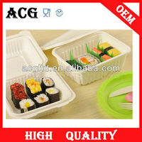 china supplier take away food disposable plastic plates