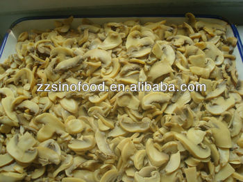 Canned Mushrooms stock goods produced in Spring Time of 2013