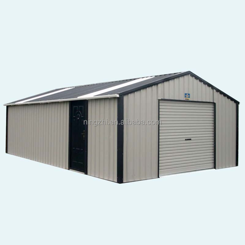 prefab outdoor storage shed/garage kits
