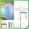 ZC-032 JNS wholesale Aluminum curved bendable hospital aluminum alloy curtain track