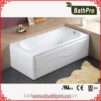 Corner Drain Location one person indoor tub bathtub with skirt