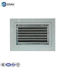 Plastic air vent return air filter grille with frame