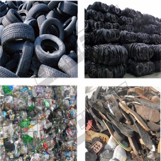 High oil output plastic to fuel oil recycling machine