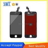 cell phone spare parts 2013 new hot selling accessories lcd full set assembly with logo for iPhone 5C