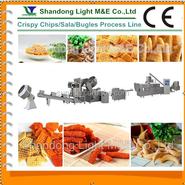 High Quality Shandong Light Extrusion Baked Puff Snack Food Machine