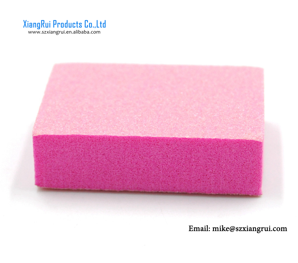 Disposable Mini Nail Buffer,mini sanding block, 2 sides buffer,smallest size 3.5*2.5*1.2cm