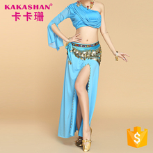 Women Sexy Professional Costume Indian Dress Suit Belly Dance Wear