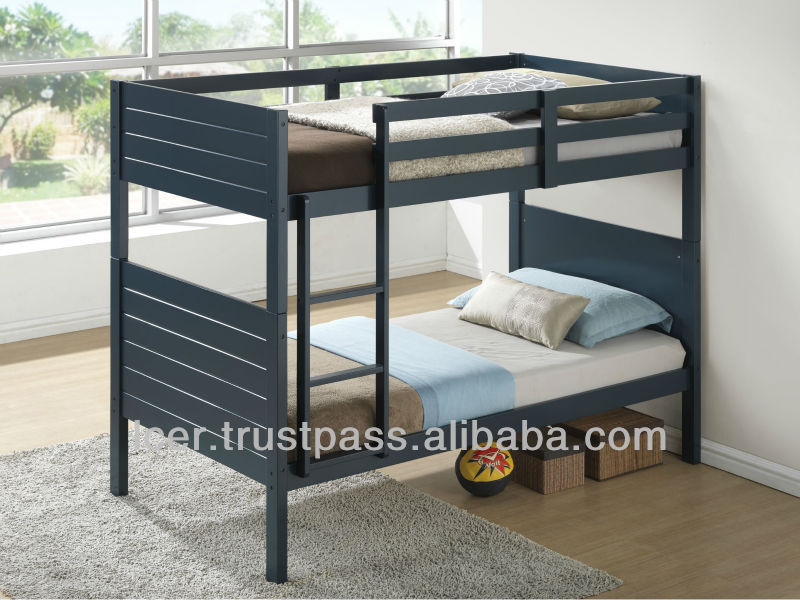Wooden Bunk Bed, Kids Bunk Bed
