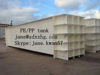 abrasion resistance PE plastic water HDPE sheet to produce Tanks